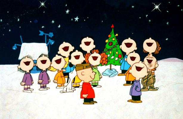 Peanuts singing